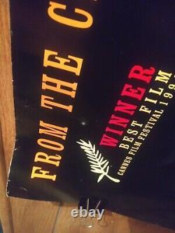 Pulp Fiction Uk British Quad Movie Poster Tarantino Travolta Classic