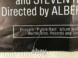 Purple Rain Original 1984 Movie Quad Poster Prince Albert Magnoli