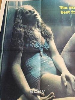 Rabid-Original British Quad Cinema Movie Poster, David Cronenberg, Video Nasty