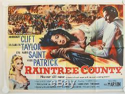 Raintree County Original Uk Quad Film Poster