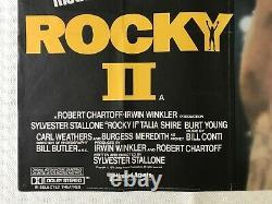 Rocky II Original Movie Quad Poster 1979 Sylvester Stallone