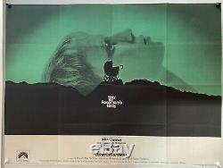 Rosemary's Baby Original UK British Quad Film Poster (1968) Roman Polanski