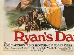 Ryan's Daughter Original Movie Quad Poster 1970 Robert Mitchum Trevor Howard