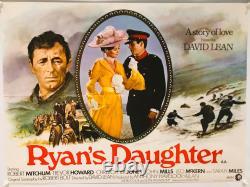 Ryan's Daughter UK British Quad (1970) Original Film Poster