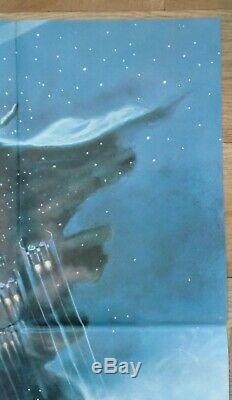 STAR WARS THE EMPIRE STRIKES BACK (1980) original UK quad movie poster Nr MINT