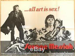 Savage Messiah Original Movie Quad UK Film Poster 1972 Ken Russell Helen Mirren