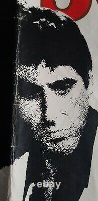 Scarface Original 1983 UK Quad Film Poster