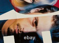 Scream Original 1997 UK Quad Film Poster cinema Wes Craven Neve Campbell Cox