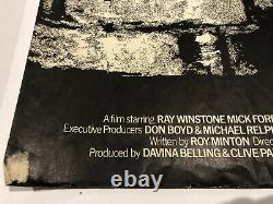 Scum 1979. Original UK Quad Movie Poster. Ray Winstone