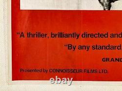 Seven Samurai 1970's RR Original Quad Film Poster Akira Kurosawa Toshirô Mifune