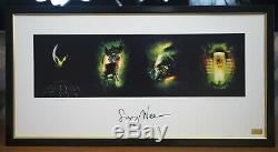Sigourney Weaver Autographed Rare Alien Quad Art Print Movie Poster Ripley COA