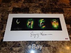 Sigourney Weaver Rare Signed Alien Quad Art Print Movie Poster Ripley COA 50/50