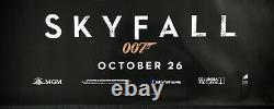 Skyfall Original Quad Movie Poster Teaser Daniel Craig James Bond 2012