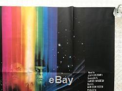 Star Trek The Motion Picture Original Quad Poster'79 Bob Peak Art Shatner Nimoy