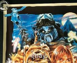 Star Wars Caravan of Courage An Ewok Adventure ROLLED Original Quad Movie Poster