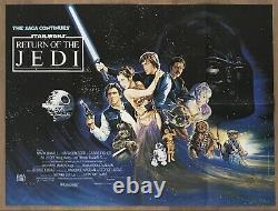 Star Wars- Return of the Jedi (1983)- Original Quad Movie Poster