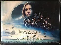 Star Wars Rogue One Original Quad Sheet Movie Poster 2016