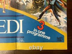 Star Wars Triple Feature (1983) 30 x 39.75 UK Quad Movie Poster
