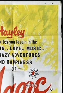 Summer Magic Original Quad Movie Poster Walt Disney Hayley Mills 1963