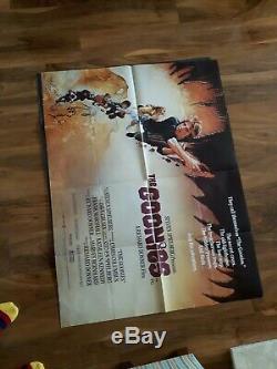 THE GOONIES film poster 30x40 quad color No paper missing graphics good