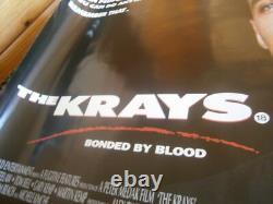 THE KRAYS (1990) RARE FILM Poster Original UK Quad