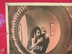 THE SERVANT ORIGINAL 1963 UK QUAD CINEMA FILM POSTER LINEN BACKED Dirk Bogarde