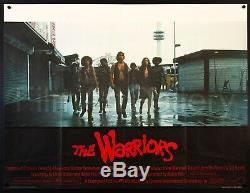 THE WARRIORS 1979 Best Style! UK Quad 30X40 poster Walter Hill Film/ArtGallery