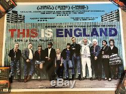 THIS IS ENGLAND (2007) Original Cinema Quad Movie Poster Shane Meadows