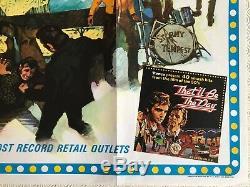 That'll Be The Day Original UK Quad Film Poster 1973 Ringo Starr Putzu Art