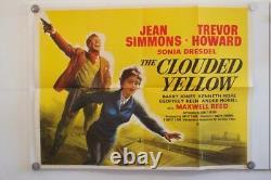The Clouded Yellow Original UK Quad Filmplakat Jahr 1950 Jean Simmons