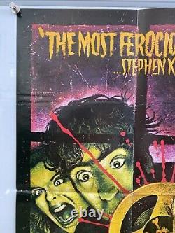 The Evil Dead Original UK British Quad Film Poster (1982) Graham Humphreys