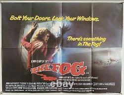 The FOG Original UK British Quad Film Poster (1980) John Carpenter 30x40