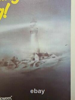 The Fog 1980 Linen Backed Original UK Quad Film Poster