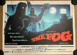 The Fog Movie Poster By Matt Ferguson John Carpenter Quad Cinema