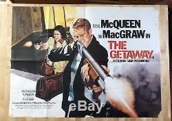 The Getaway Original Quad UK Movie Poster