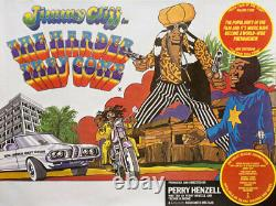 The Harder They Come R1970s British Quad Poster