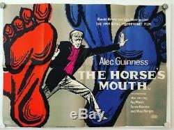 The Horses Mouth Original British Film Poster Uk Quad Rare Vintage