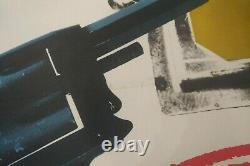 The Ipcress File uk quad film poster 1960s, Michael Caine, Len Deighton, not 007