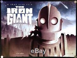 The Iron Giant 1999 Original Movie Poster British Quad 2016 Rerelease