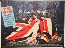 The Kids Are Alright UK British Quad (1979) Original Film Poster