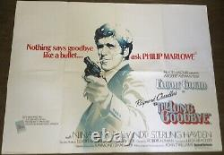 The Long Goodbye Original Uk Quad Film Poster (1973)