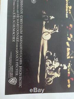 The Lost Boys LINEN BACKED UK Quad (1987) Original Film Poster