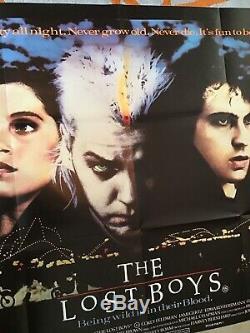 The Lost Boys UK Quad (1987) Original Film Poster