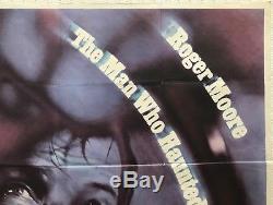 The Man Who Haunted Himself Original Movie Quad 1970 Roger Moore Chantrell Art