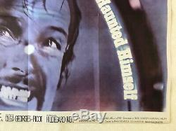 The Man Who Haunted Himself Original UK Movie Quad Poster 1970 Roger Moore