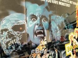 The Monster Squad Original UK Quad Cinema Film Poster