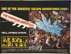 The Poseidon Adventure UK British Quad (1972) Original Film Poster