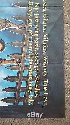 The Princess Bride (1987) Original UK Cinema Quad Movie Poster 30 x 40