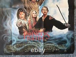 The Princess Bride 1987 Original Uk Quad Film Poster 30x40 Rare