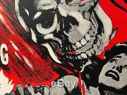The Screaming Skull LINEN BACKED UK (British) Quad (1959) Film Poster